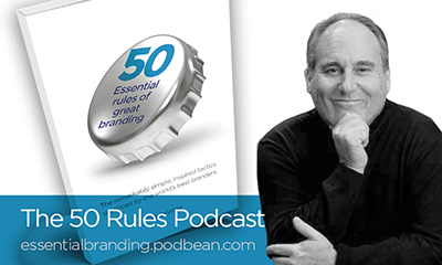 50 esssential rules of branding podcast