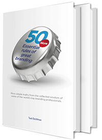 50 esssential rules of branding books